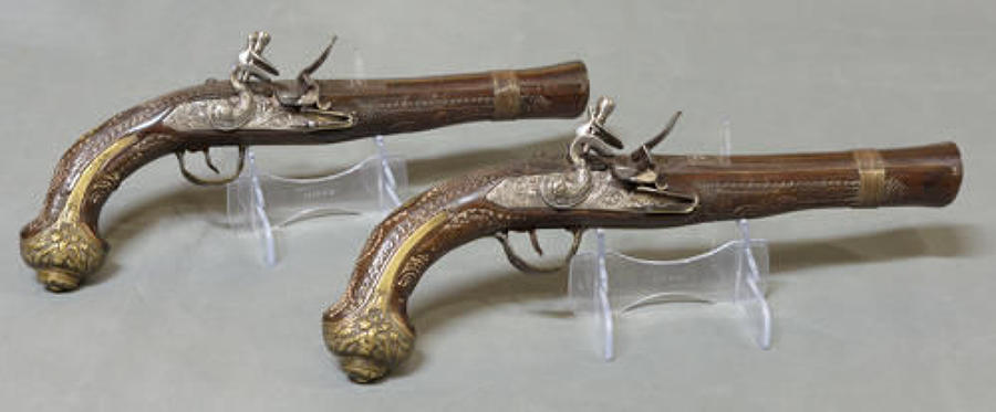 Flintlock, Percussion Pistols & Longarms