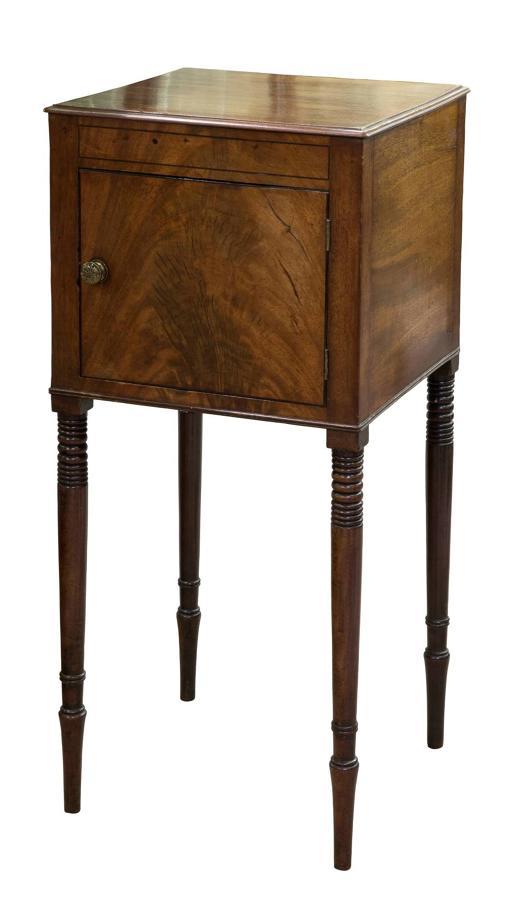 Regency bedside cabinet c1810