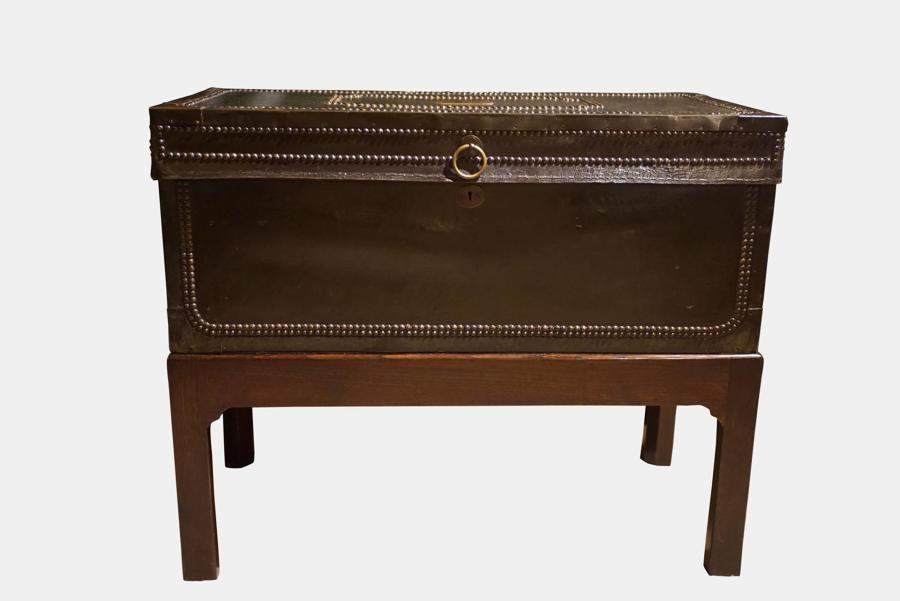 19thc Chinese Export Trunk