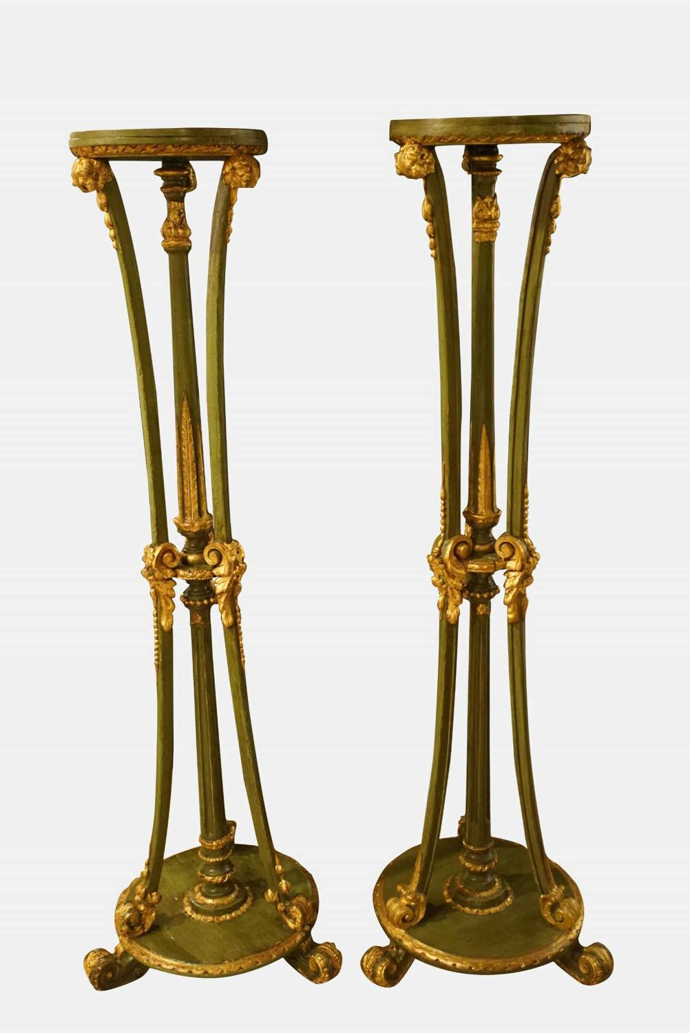 Pair of Early 20thC Torcheres