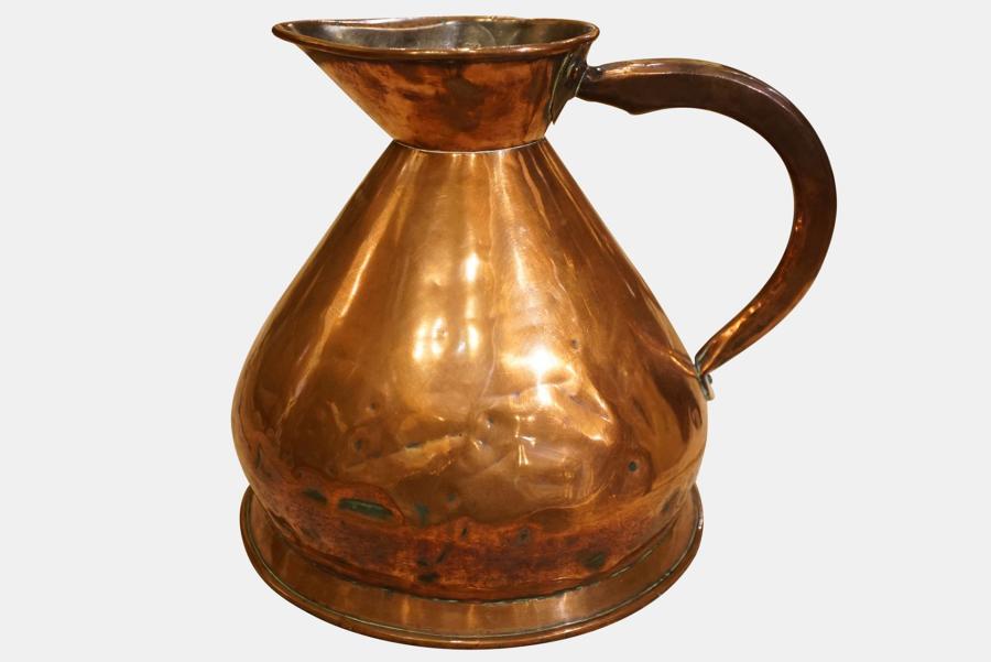 2 Gallon Copper Haystack Ale Measure