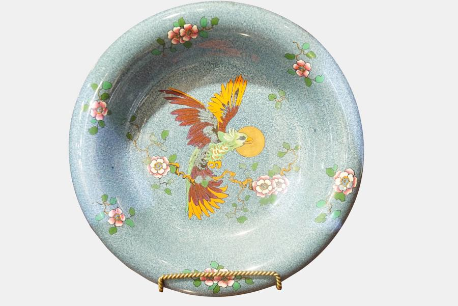A George Jones Crescent Decorative Bowl