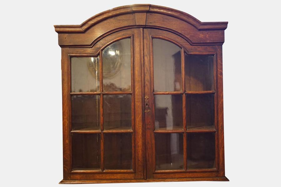 Dutch Oak Domed Top Cabinet