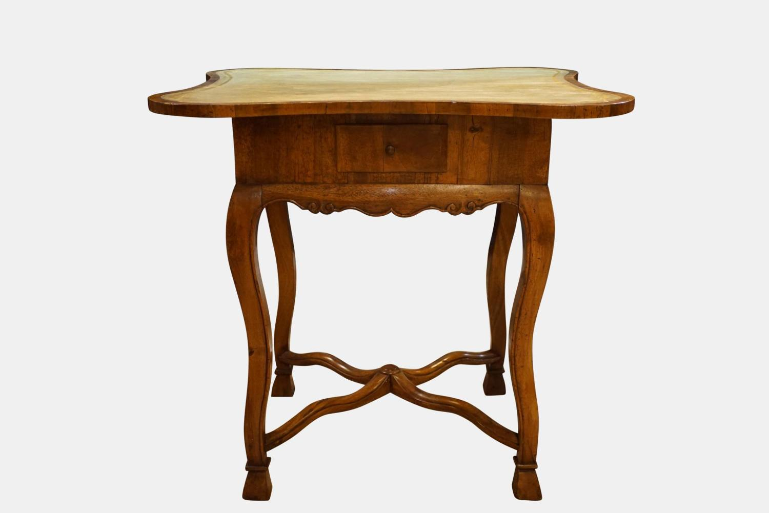 French Walnut Games Table