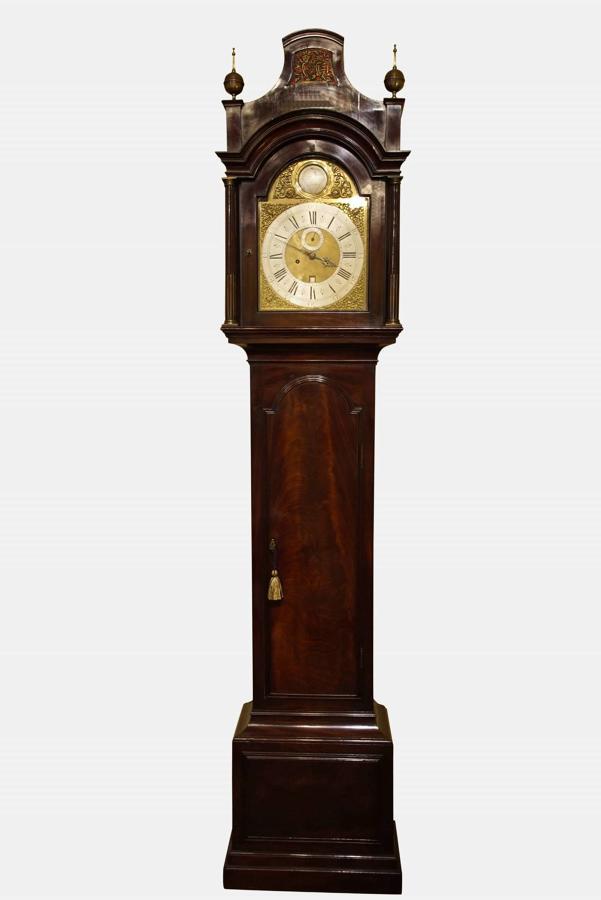 A Fine Mahogany 8 Day Longcase Clock