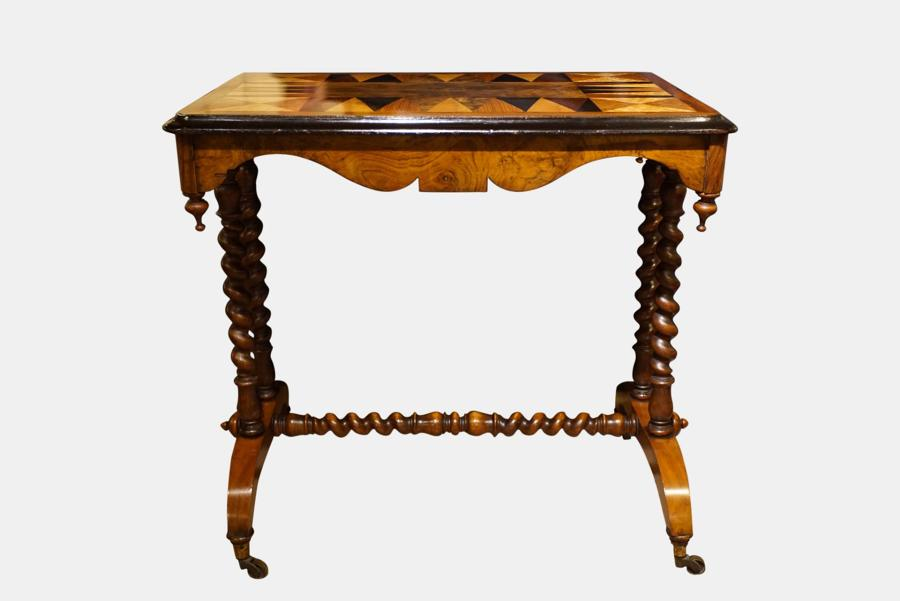 Victorian Specimen Timber Top Centre Table
