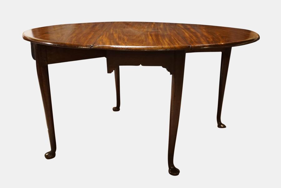 George II Mahogany Drop Leaf Table