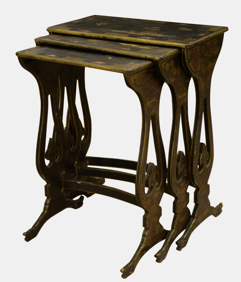 Nest of 3 19th Century Tables