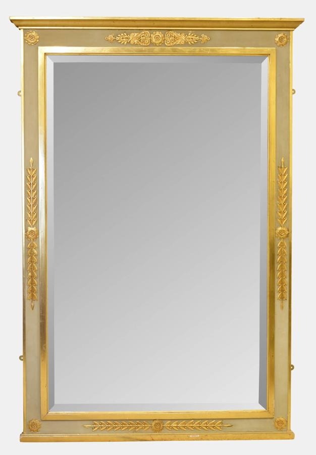 Early 20th Century Empire Style Mirror