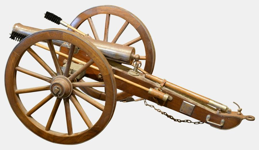 Scale Model of 19th Century Field Gun