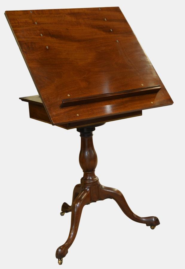 18th Century Mahogay Artists/Reading Table