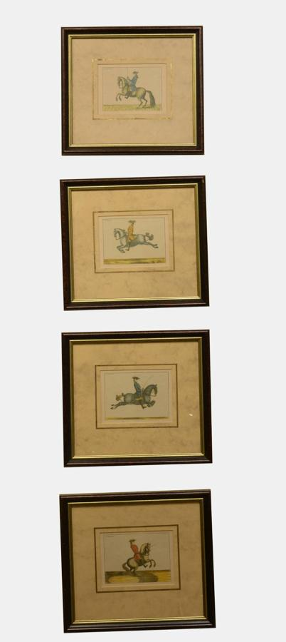 Set of 4 Framed Equestrian Prints