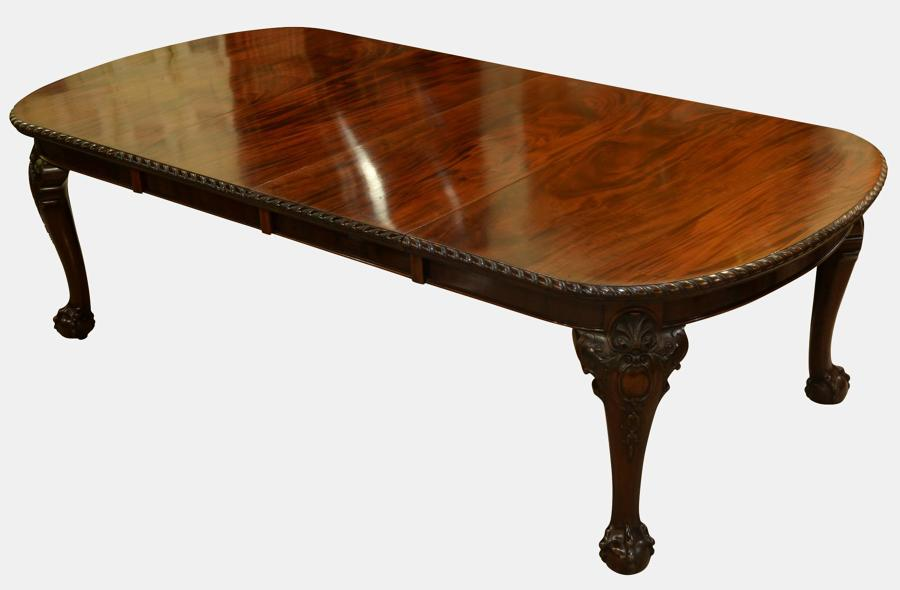Large 2 Leaf Wind Out Dining Table