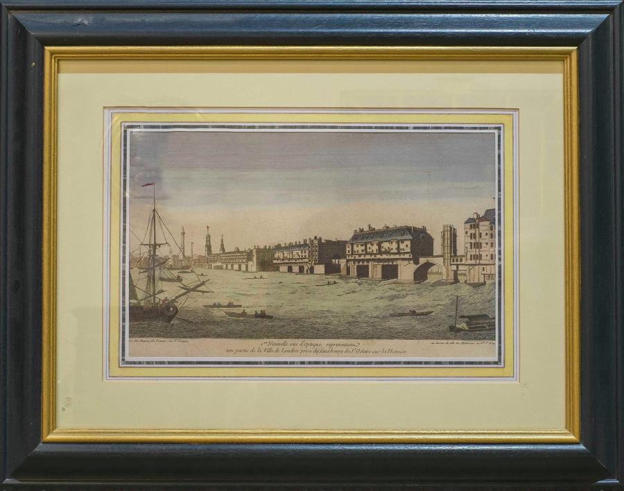 Framed Print of Old London Bridge