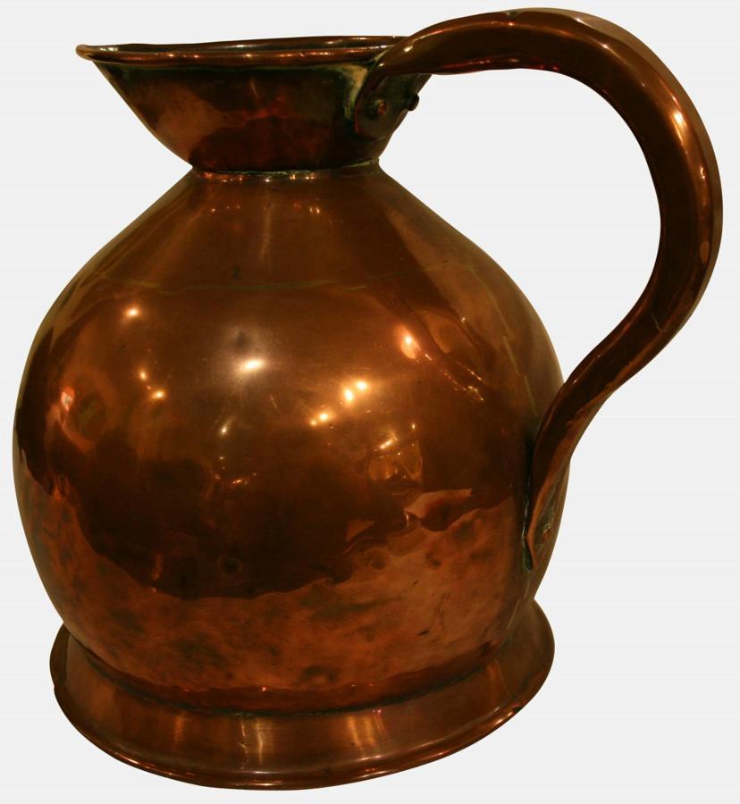 One Gallon Copper Meaure