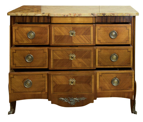 19thc commode with marble top