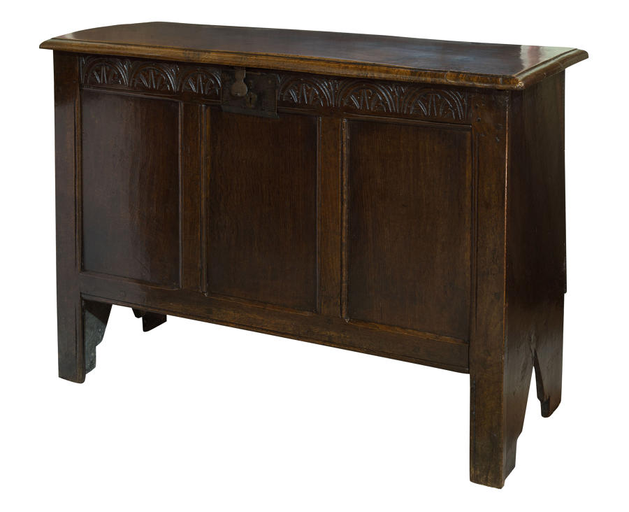 Oak Coffer circa 1650