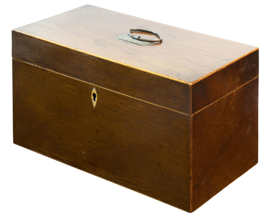 George III Partridgewood Tea Caddy