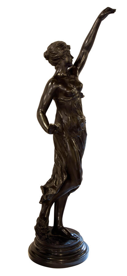 Late 19thC French bronze sculpture