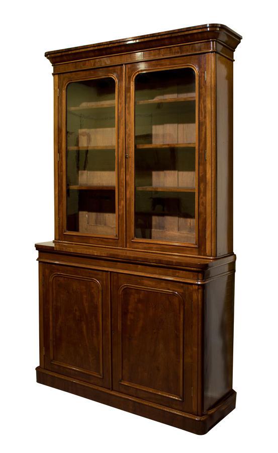19thC Mahogany bookcase