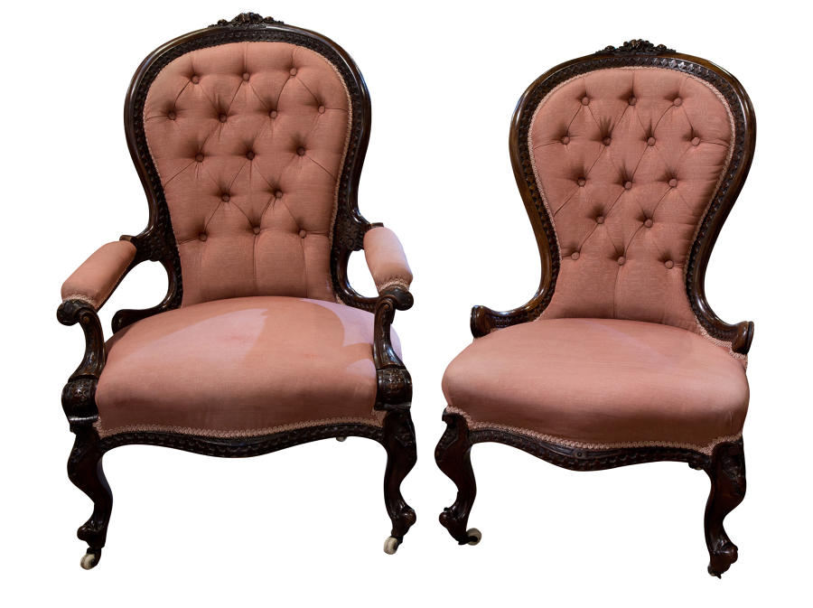 Victorian chairs c1860