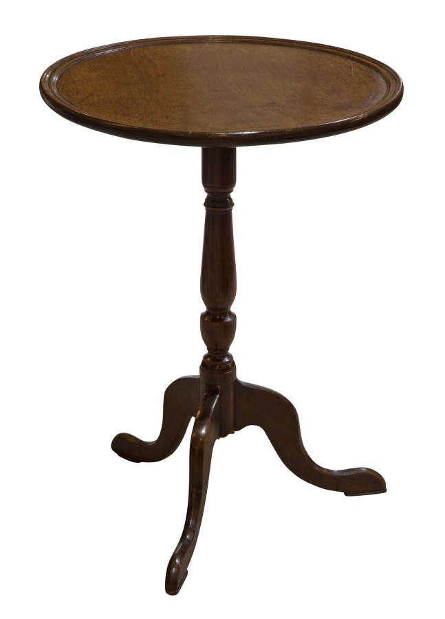 Georgian mahogany dish top lamp table c1800