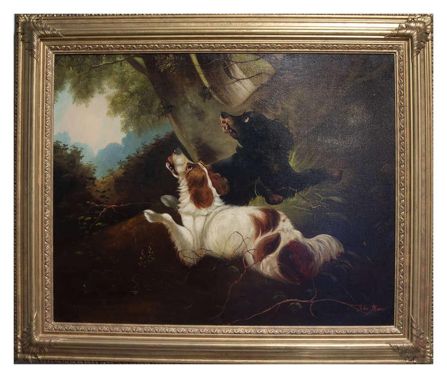 Oil on Canvas c 1877