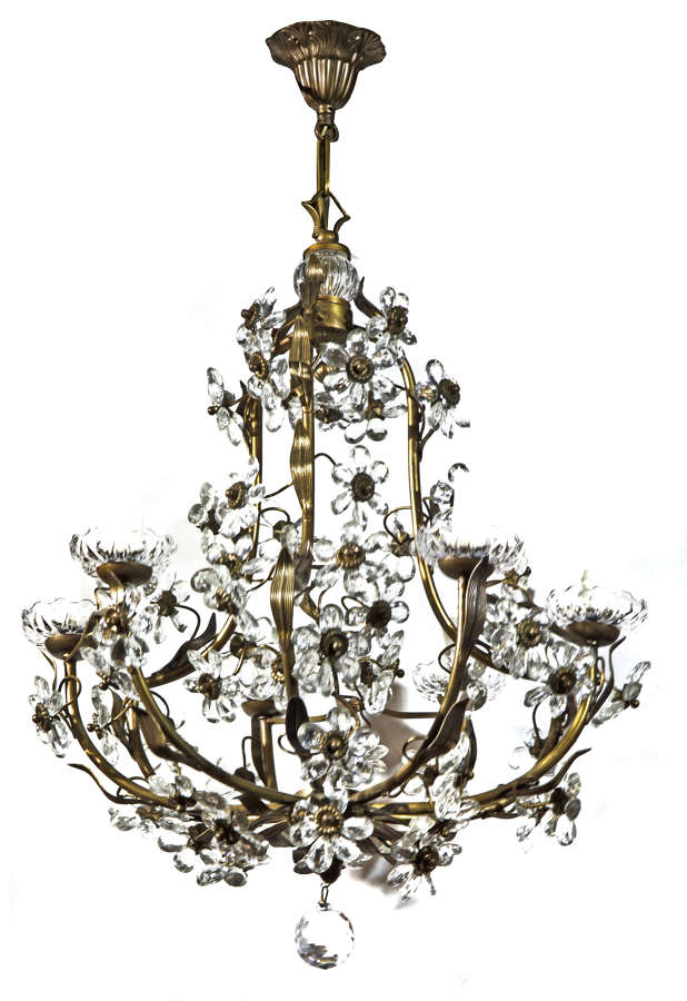 Decorative French 6 Light Chandelier