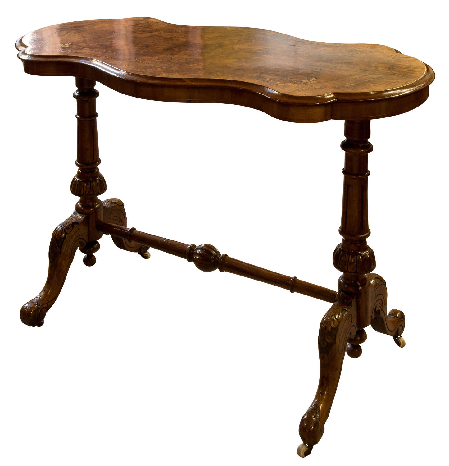 Walnut Centre Table c1870