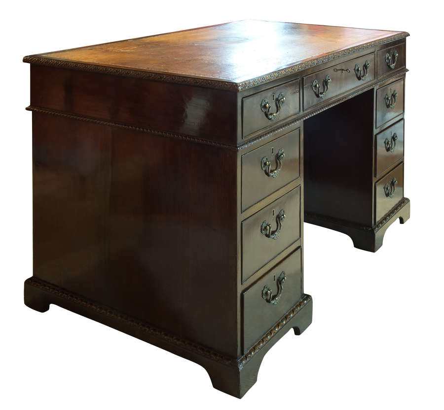 Pedestal Desk by Spillman & Co