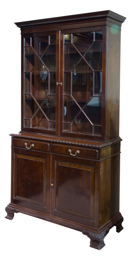 Mahogany Bookcase by Holland & Sons c1890