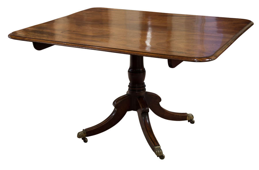 Regency Period Rectangular Breakfast Table