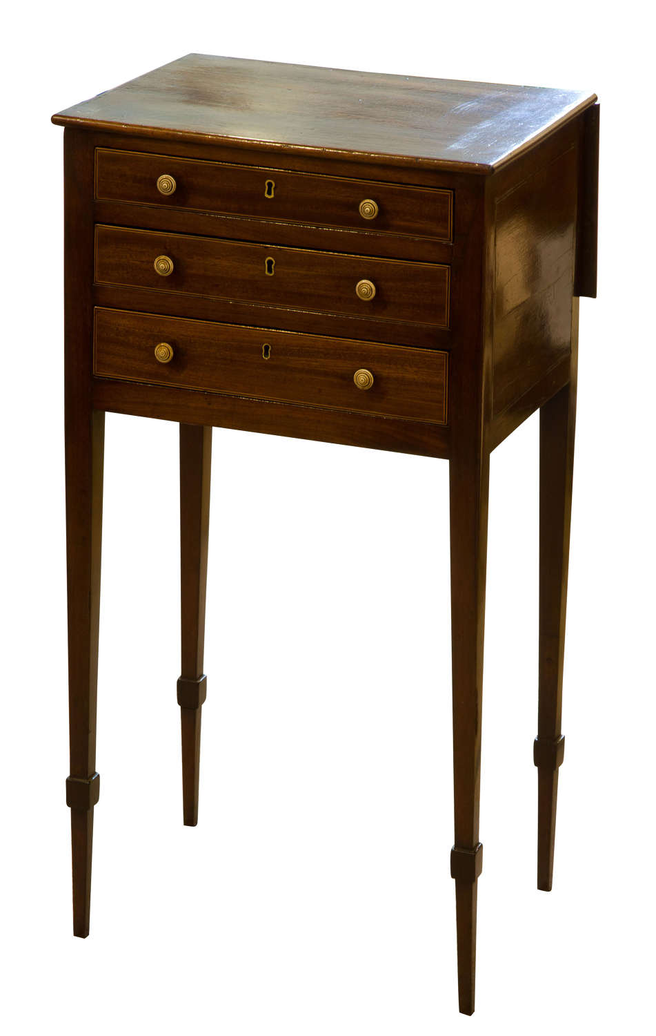 Very Small Regency Work Table c1800