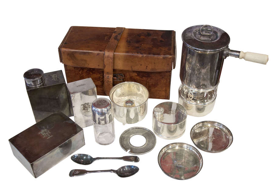 Silver Plated Picnic Set c1900