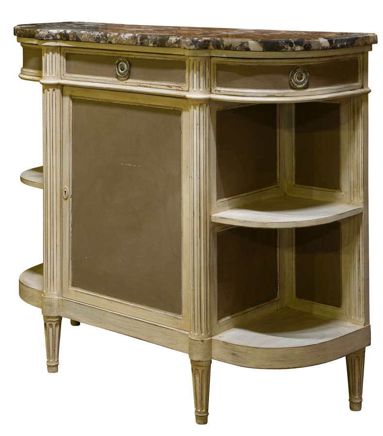 French Painted Cabinet c1920