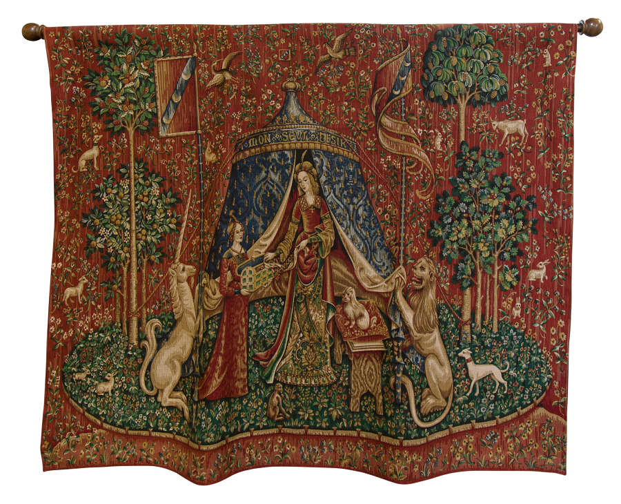 Mid 20thc Brussels Tapestry