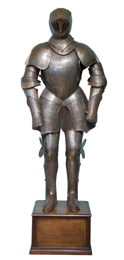 17thc Style Etched Full Armour 19thc