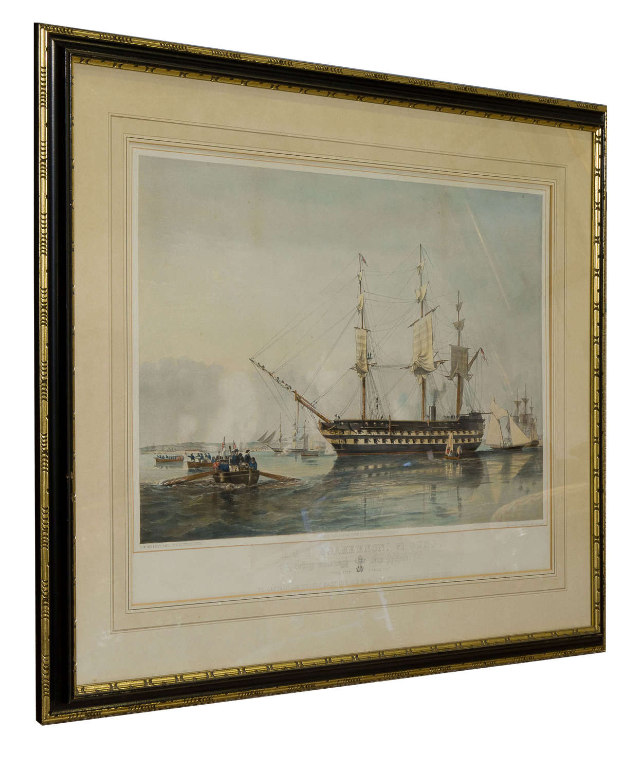 19th Century Hand-Coloured Lithograph by TG Dutton