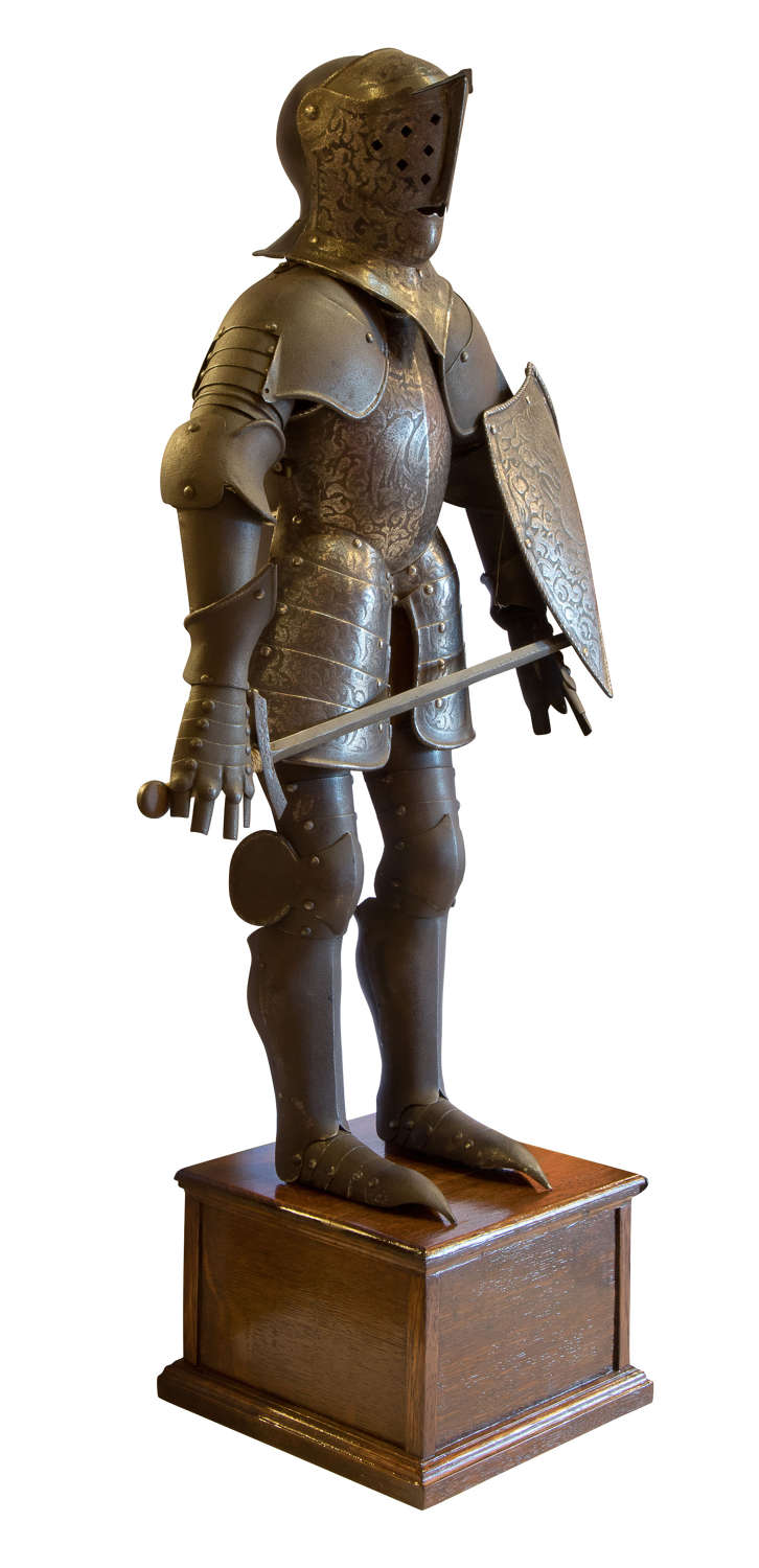 Miniature Etched Armour in 16thc Style