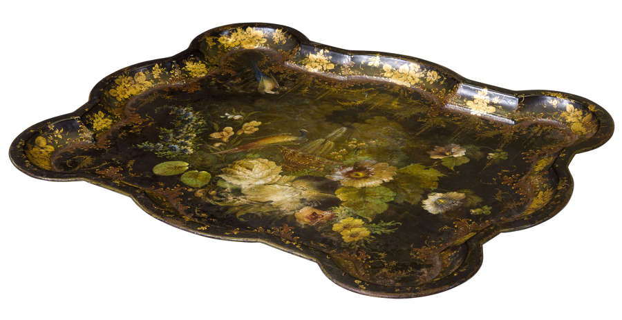 19th Century Toleware Tray