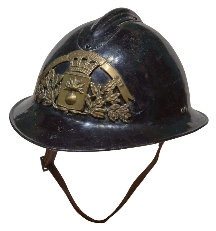 A French Fireman's Helmet