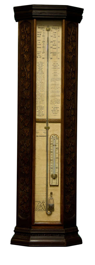 An Admiral Fitzroy Barometer c1890