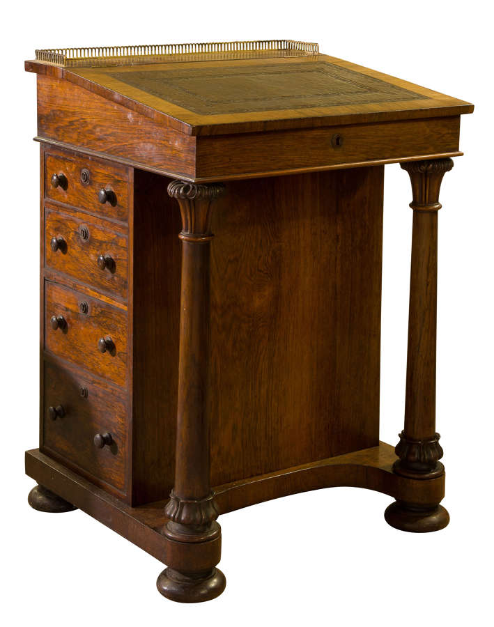 William IV Rosewood  Davenport circa 1830