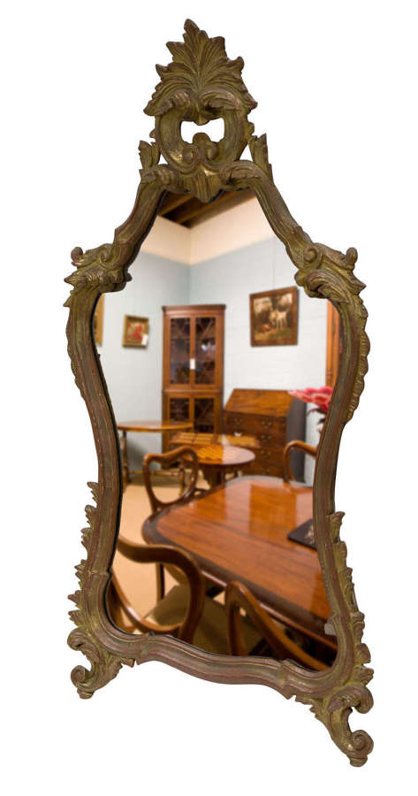 Late 18thc French Giltwood Mirror c1780-1800