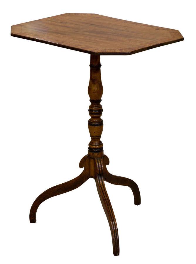 18thc Mahogany Lamp Table