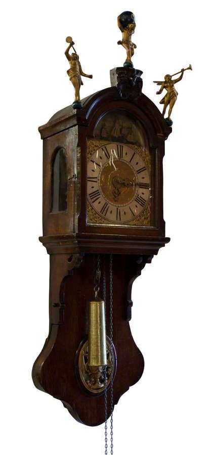 Dutch Staart Clock c1800
