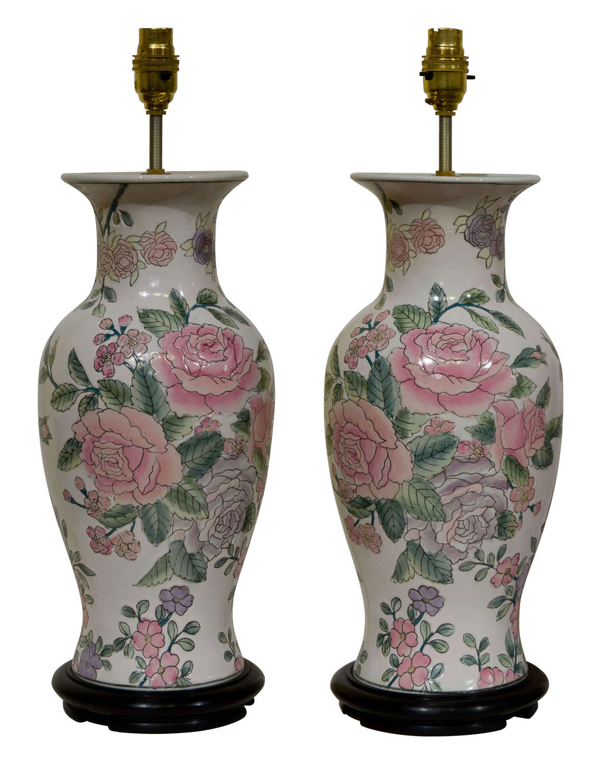 Pair of decorative Chinese Lamps