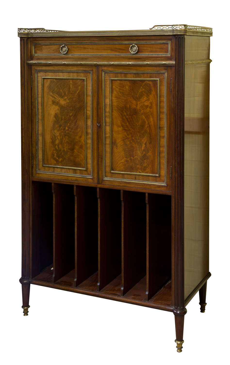 Louis XVI style music cabinet c1870