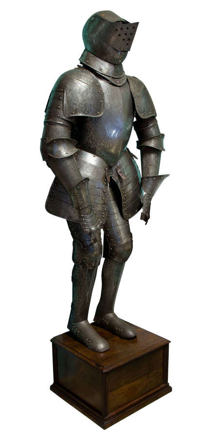19thc suit of Armour
