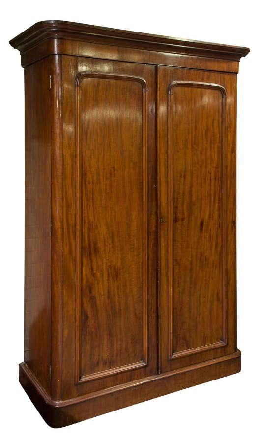 Victorian mahogany wardrobe circa 1880